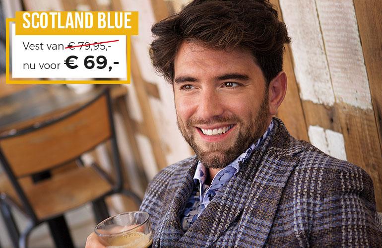 Scotland Blue: Vest - 69 euro