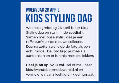 Kids styling day